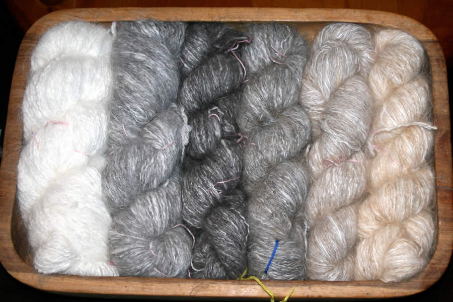 Angora Wool Products - Available from Angora Creations, KZN South ...