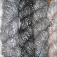 Angora Wool Skeins